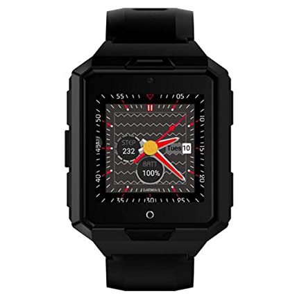 Amazon.com : Smart WatchRound Smartwatch with SIM TF Card ...
