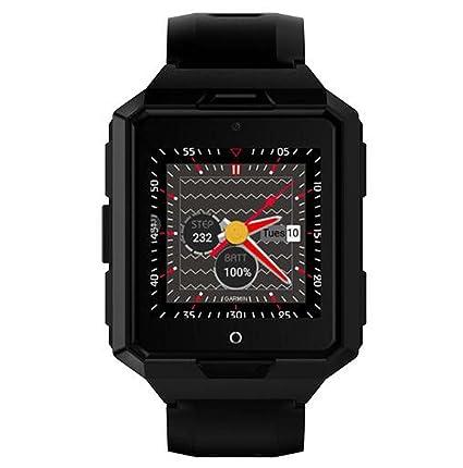 Amazon.com : Smart WatchRound Smartwatch with SIM TF Card ...