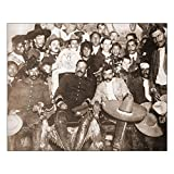 "CafePress - Pancho Villa Emiliano Zapata 16X20 Poster - 16""x20"" High Quality Poster on Heavy Semi-gloss Paper"