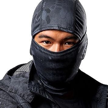 Shanghai Story Highlander Camouflage Balaclava Full Face mask Ninja Hood Millitary Camo