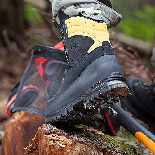Cut Med Høyteknologiske Sko Operasjoner Beskytter Lier Alpin Klasse motstand For Beskyttende Svart Haix På 3 qC7B4