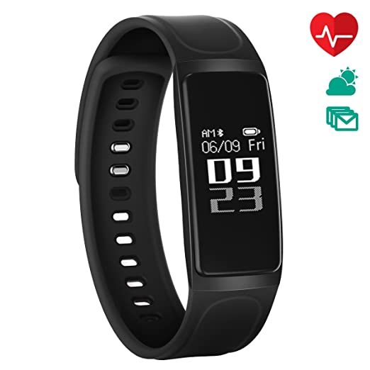 24 opinioni per Fitness Tracker, CHEREEKI Bluetooth 4.0 Monitor di frequenza cardiaca