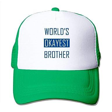 AOHOT Classic Hombre Mujer Gorras de béisbol, Worlds Okayest ...