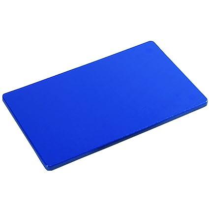 Schneidebrett Rot Kunststoff groß ca 50 x 30 x 2 cm HACCP Gastro Qualität