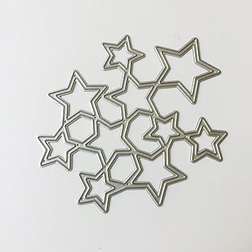 SKYlive DIY Mütter Tag Geschenke Metall Stanzen Vorlage Scrapbooking ...