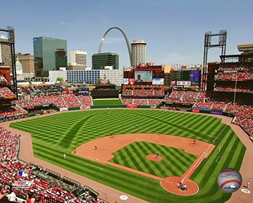 Busch Stadium St. Louis Cardinals MLB Photo (Size: 8