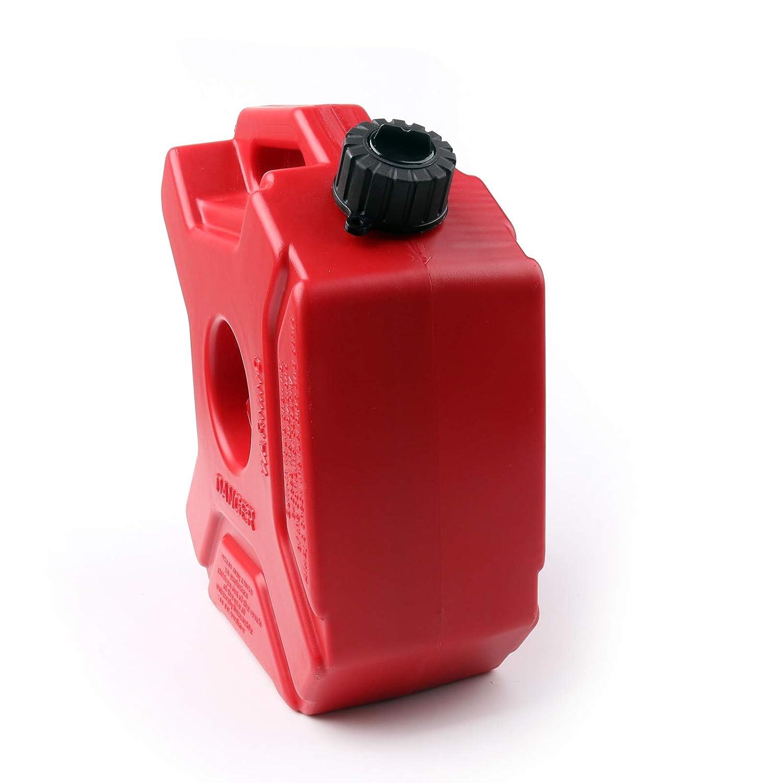 Areyourshop Dep/ósito de combustible port/átil de pl/ástico para motocicletas y carros
