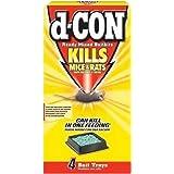 D-Con Ready Mix Bait Bits For Mice Brodifacoum Mice - 3.0 oz. - 4ct