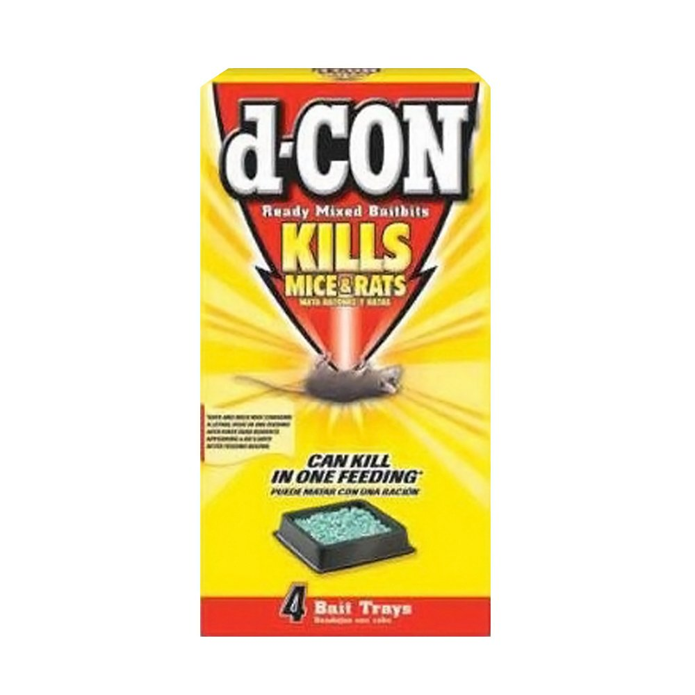 D-Con Ready Mix Bait Bits For Mice Brodifacoum Mice