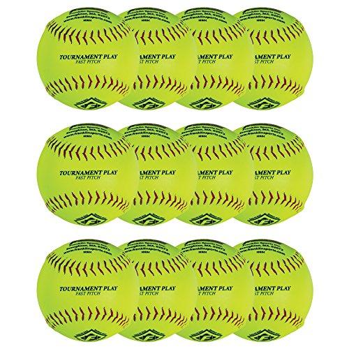 "Franklin Sports 12"" Fastpitch Softballs - 12 Pack"
