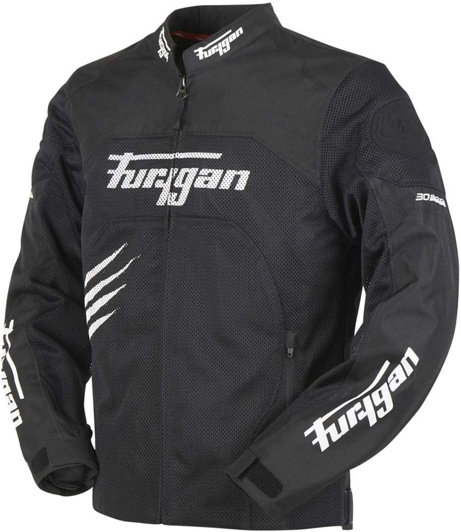 Furygan Rock Veste de moto ventil/ée en textile
