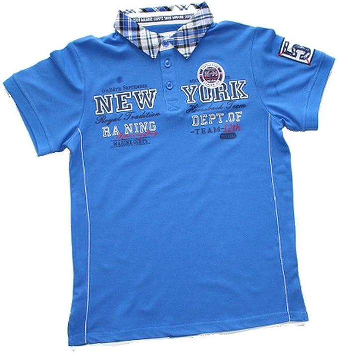 Fashion Polo para niño, diseño de Nueva york, color azul, tamaño ...