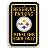 Fremont Die NFL Pittsburgh Steelers Plastic Parking Sign