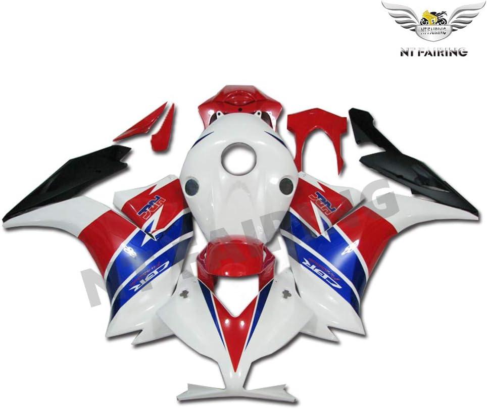 NT FAIRING White Red Blue Fairing Fit for HONDA 2012-2016 CBR1000RR CBR 1000RR New Injection Mold ABS Plastics Bodywork Body Kit Bodyframe Body Work 2013 2014 2015 12 13 14 15 16