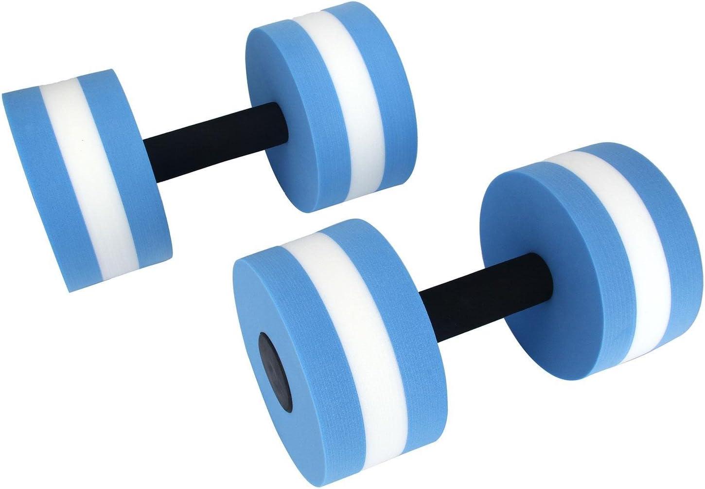Bleu et Blanc niceEshop TM 1 Paire Halt/ère en Mousse pour Sport dans la Piscine et Spa