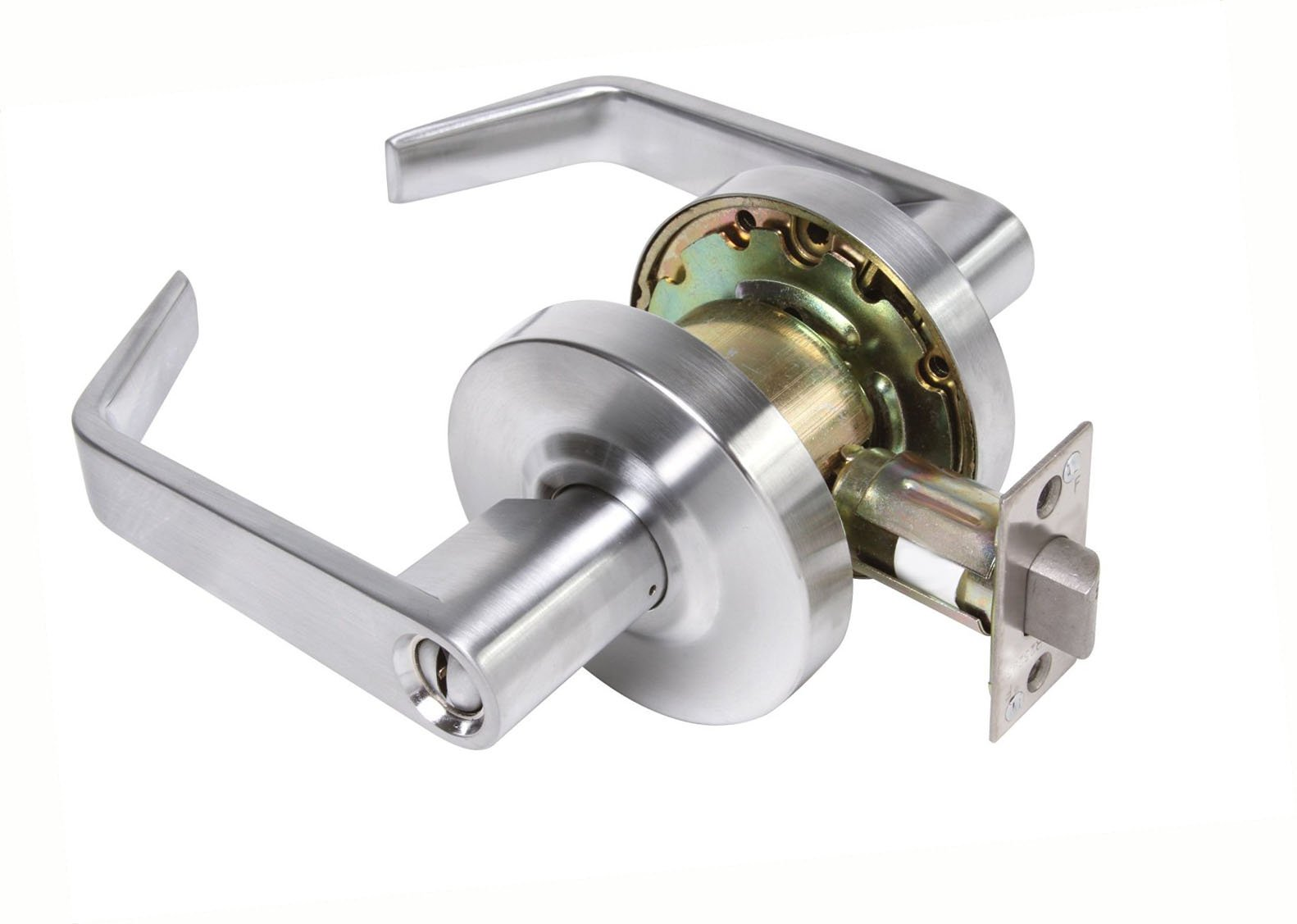 Dynasty Hardware AUG-20-26D Grade 2 Commercial Duty Privacy Lever, ADA, Satin Chrome Finish by Dynasty Hardware (Image #1)