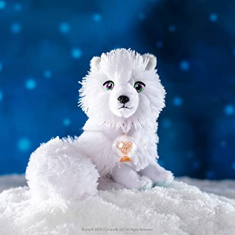 Elf Pets an Arctic Fox Tradition