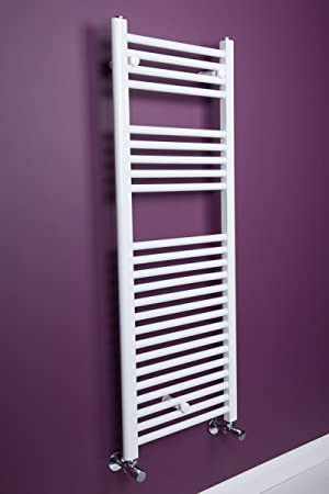 sche serviettes eau chaude 625w 1500 x 500mm droit blanc radiateur - Radiateur Salle De Bain Chauffage Central