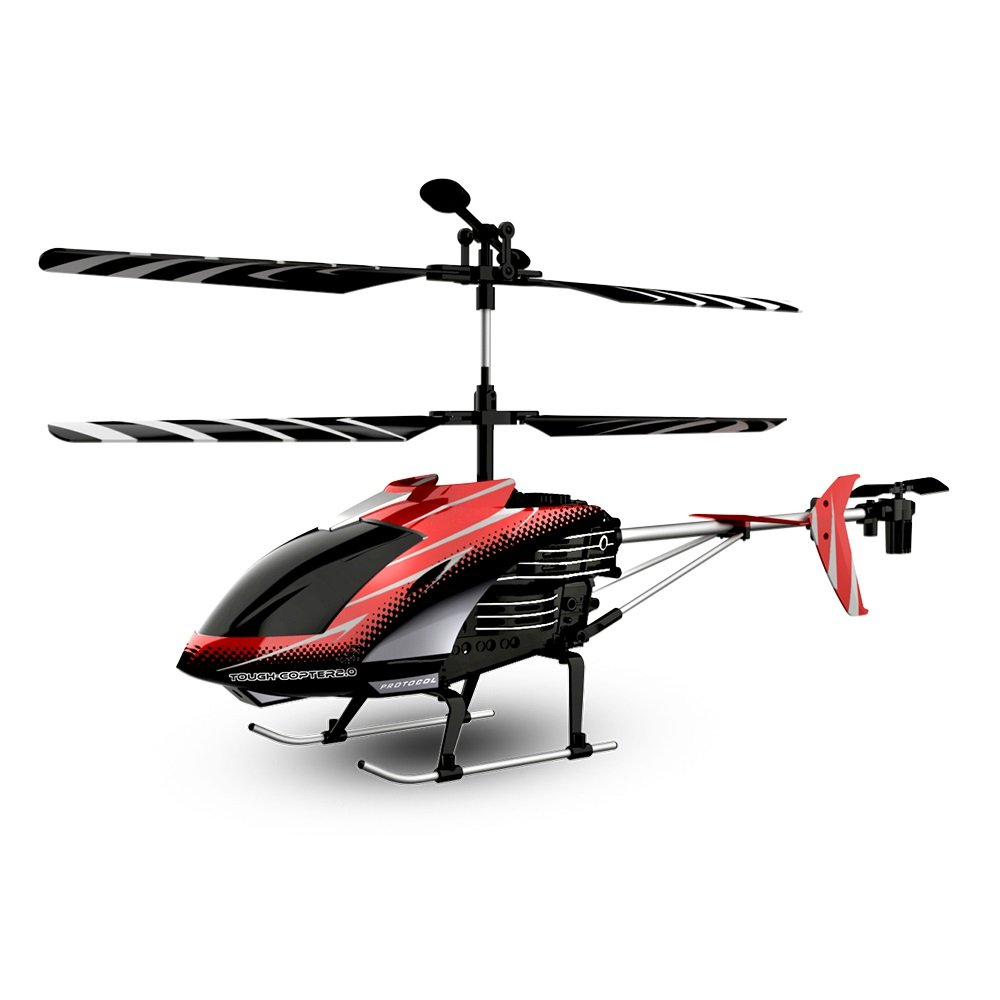Amazon.com: Protocol Tough Copter II | 3.5 Channel RC with Gyro Stabilizer  for Quick Response and Control, Durable Alloy Frame for Resistance from  Rough ...