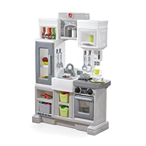 Step2 Downtown Delights Kitchen Kids Playset, Gray