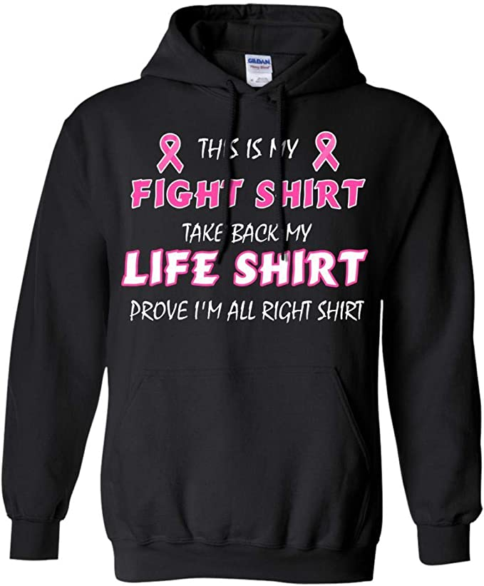 Teelesto This is My Fight Shirt Take Back My Life Shirt Prove Im All Right Shirt Breast Cancer Awareness