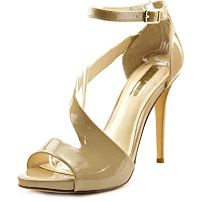INC International Concepts Womens Suzi Leather Open Toe Oatmeal Size 100