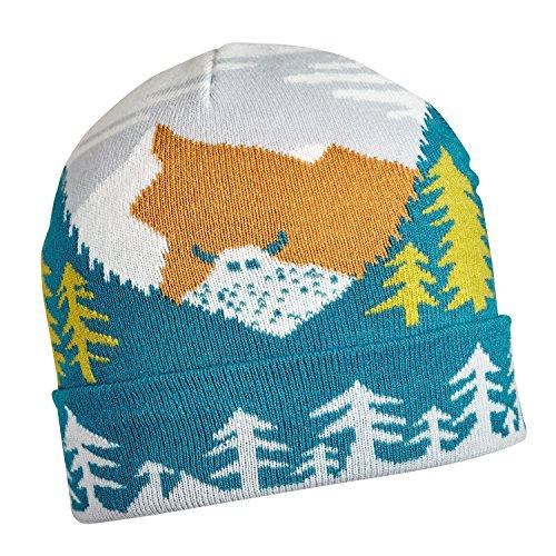 Turtle Fur Kids Snow Yo Yeti Lightweight Knit Beanie Crystal (Turtle Fur Lightweight Hat)