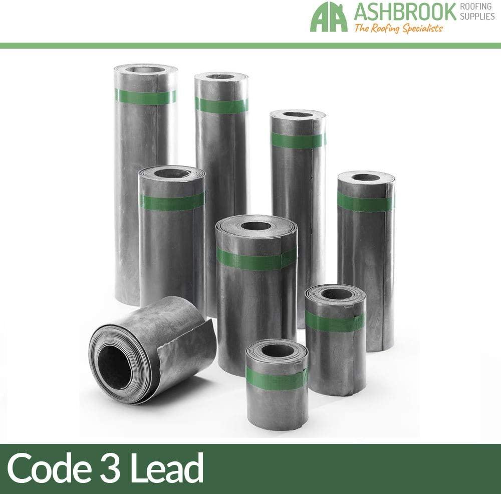 for various roofing projects Midland Lead 360x3m Code 3 Lead Roll provides excellent weatherproofing Lead sheet a durable material that lasts over 100 years