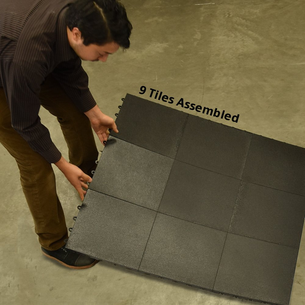 Greatmats portable dance floor 1x1 ft tile 26 pack black amazon dailygadgetfo Image collections