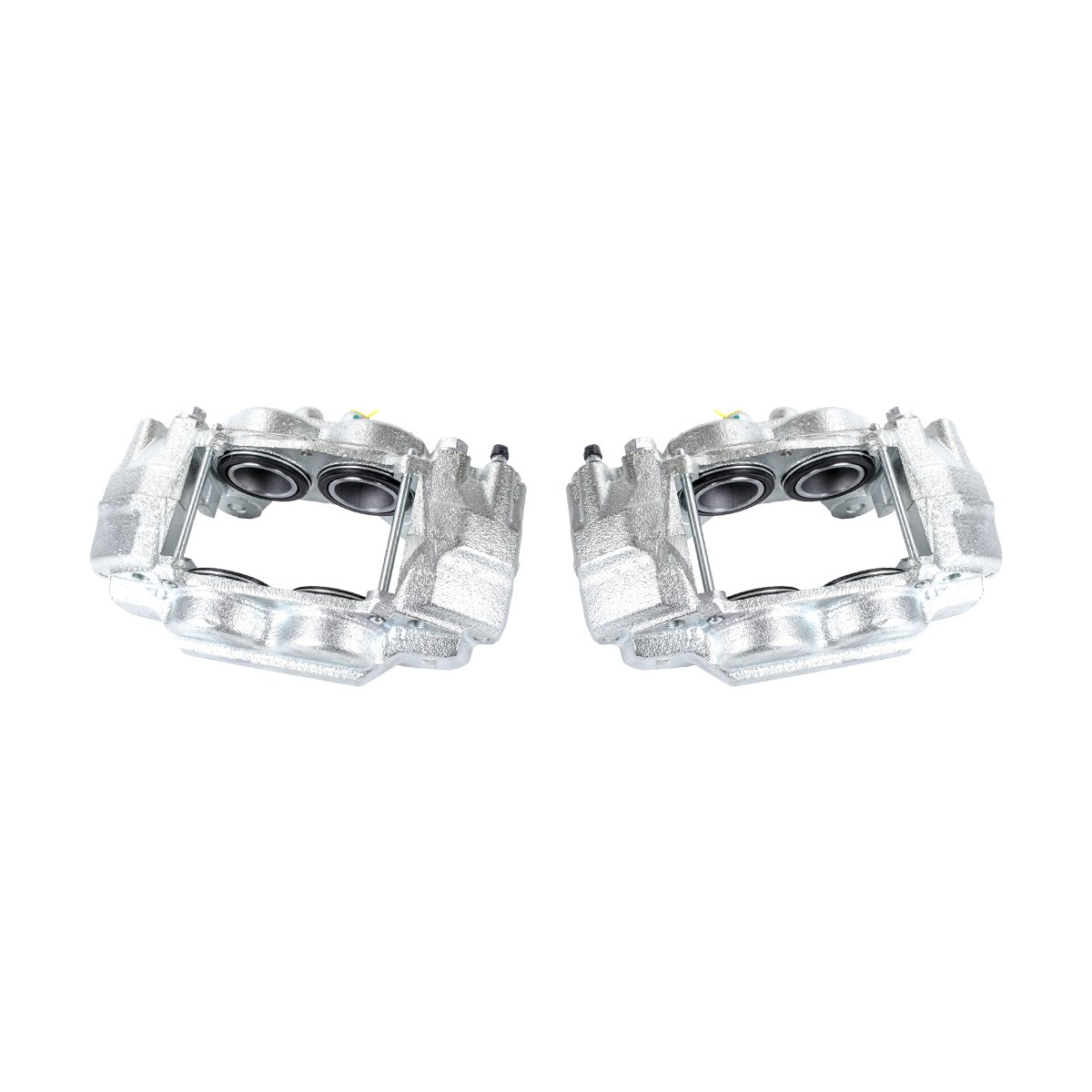 Callahan CCK04105 [2] FRONT Premium Semi-Loaded Original Caliper Pair + Hardware Brake Kit Callahan Brake Parts