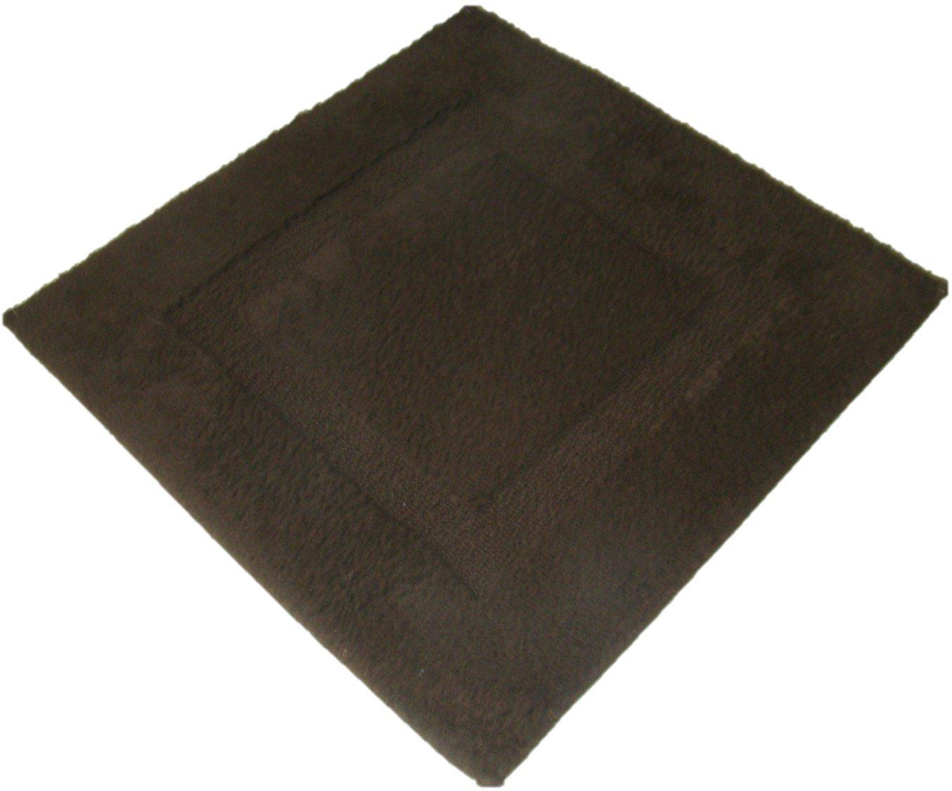 JEAN ALAN magbarbi Magic–Alfombra de baño (algodón, 60x 60cm, color marrón GUIMATEX