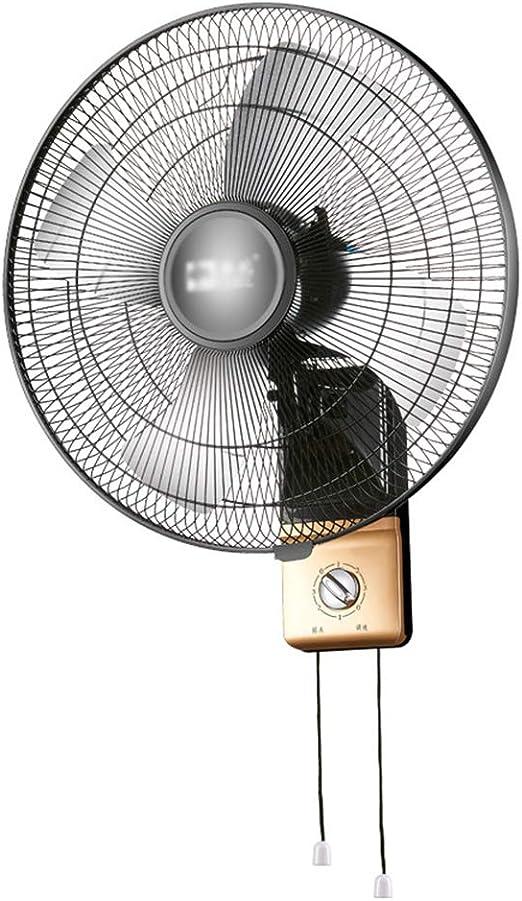 Ventilador de pared, oscilante | mecánica | 18/20 Pulgadas | Negro ...