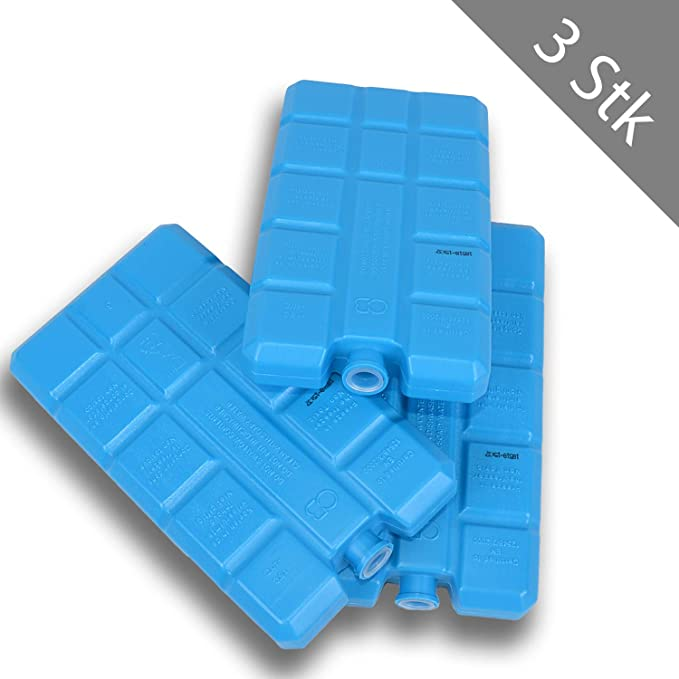 3 x 200 ml Acumuladores aplicador Ice batería Bolsa nevera nevera ...