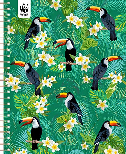 Used, WWF Toucans Monthly Planner 2020 January-December Personal for sale  Delivered anywhere in USA