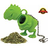 BestOffer Tea Rex Tea Infuser T Rex Tea Infuser Loose Tea Leaf Strainer Herbal Spice Filter Diffuser Steeper Food Safe