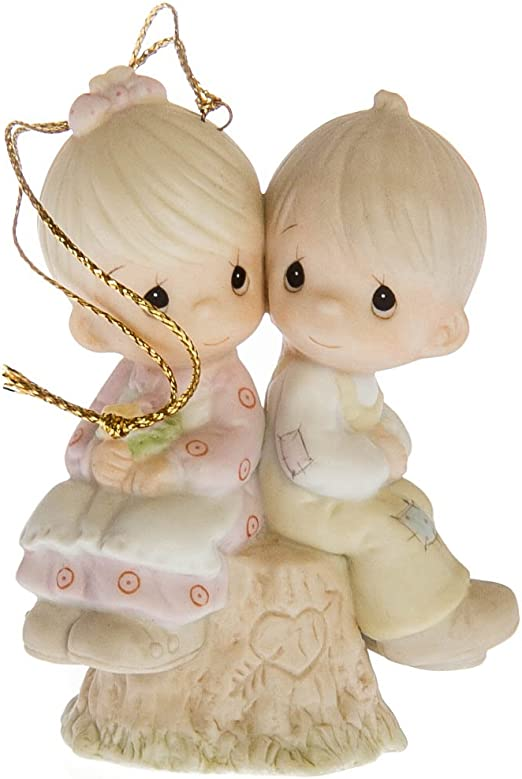 Precious Moments Love One Another Porcelain Ornament 522929