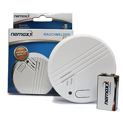 FL10 de humo/detector de humo con 10 de litio-Batería