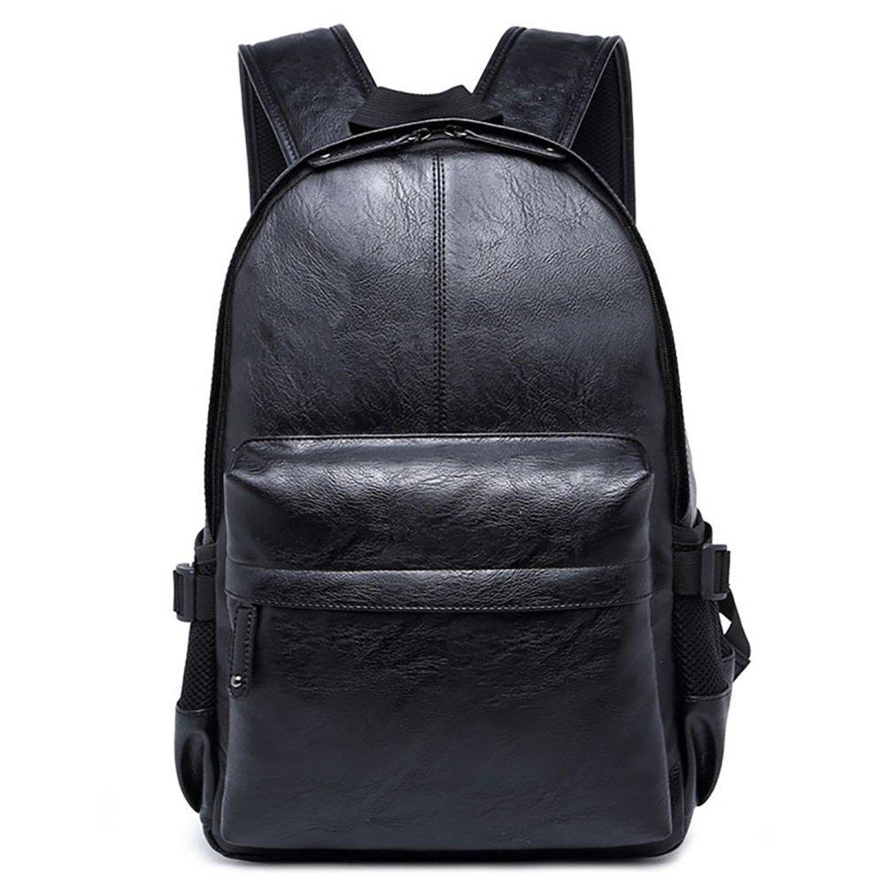 Vintage PU Leather Backpack School College Bookbag Laptop Computer Backpack