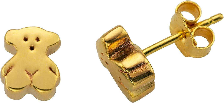 TOUS Pendientes de botón Mujer oro amarillo - 15913000