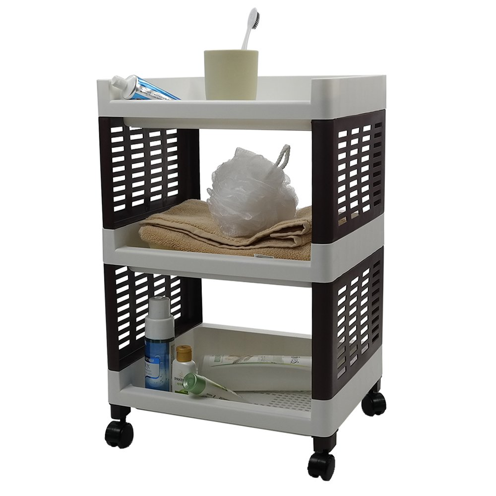 30 new rolling bathroom storage cart. Black Bedroom Furniture Sets. Home Design Ideas