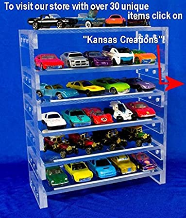 amazon com collectable toy car display rack 1 64 scale toys games rh amazon com diecast car display shelves model car display shelves bend or