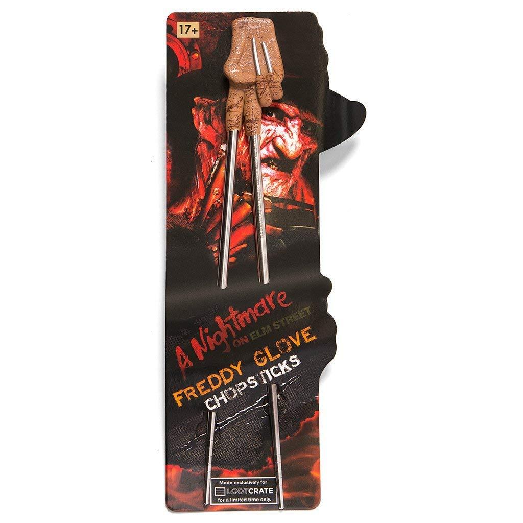 Loot Crate October 2016Horror Exclusive Nightmare on Elm Street Freddy Krueger Glove Chopsticks