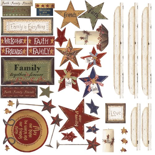 ROOMMATES RMK1568SCS Family & Friends Peel & Stick Wall Decals