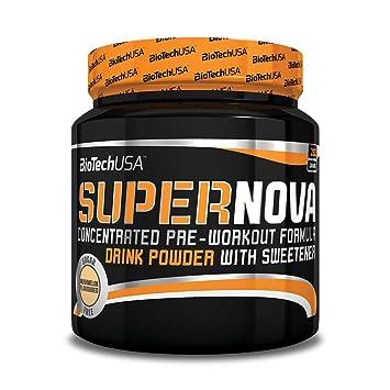 Biotech USA Super Nova pre-workout formula Peach Flavor - 9 4 kg