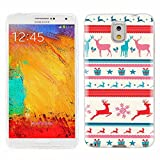 note3 Case, Samsung note 3 Case, Galaxy note3 Case , ChiChiC full Protective unique Case slim durable Soft TPU Cases Cover for Samsung Galaxy Note3 N900A N900V N9000 N9002 N9005 N900P N900T,cute colorful deer teal taffy rose