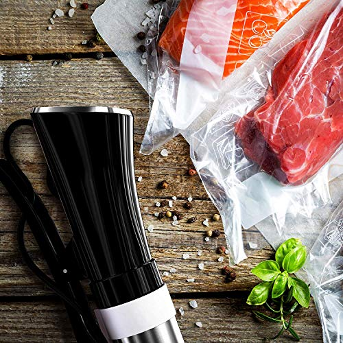 Malaha Sous Vide Cooker 1000W - Immersion Circulator - Professional Machine - Sous Vide Vacuum Heater - Accurate Temperature Digital Timer - Ultra Quiet Working Cooker by Malaha (Image #7)