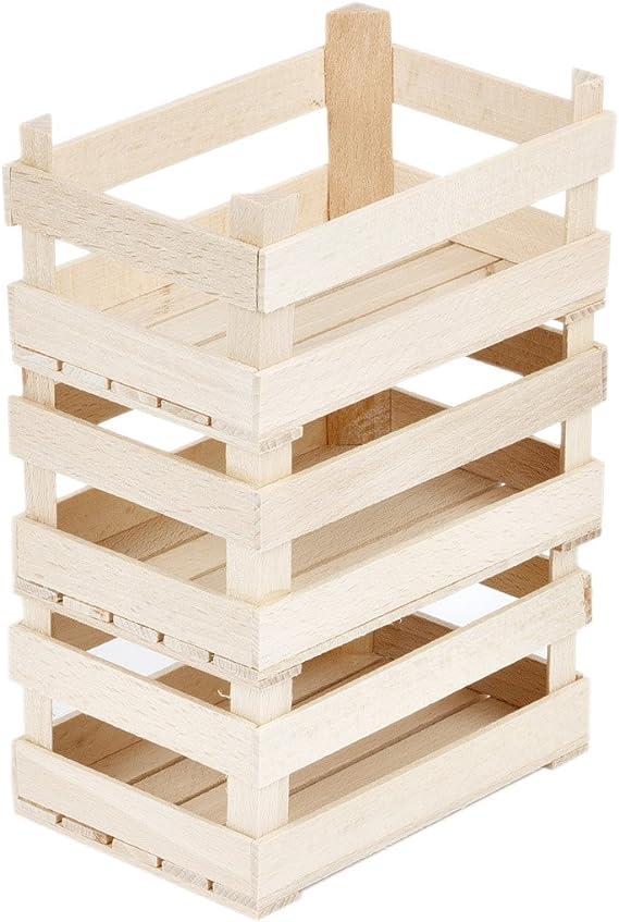 Caja de madera stiegen Madera Cajas de 3 pequeñas cajas caja de ...
