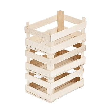 Caja de madera stiegen Madera Cajas de 3 pequeñas cajas caja de almacenamiento (: Amazon.es: Hogar