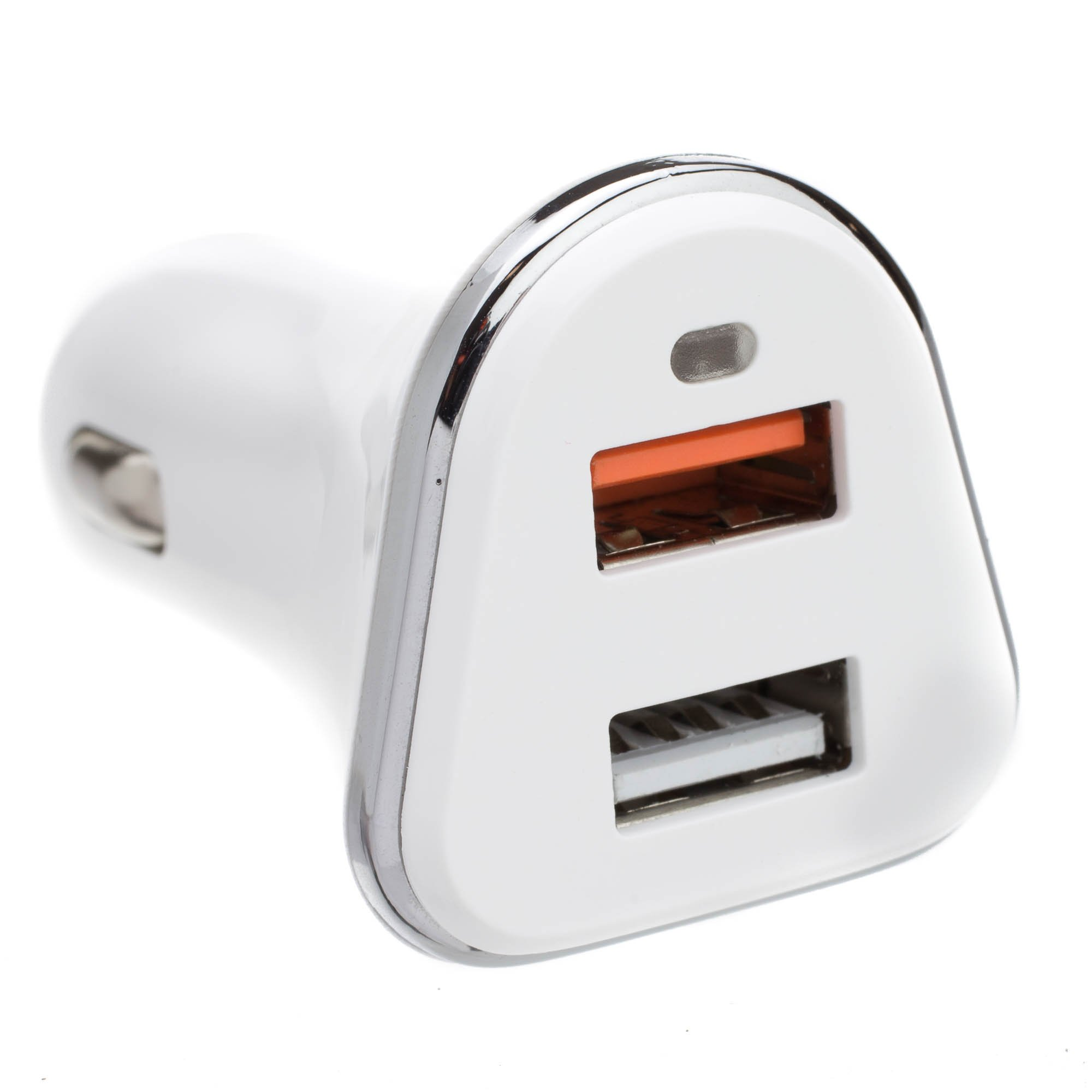 ACL 2 Port USB Car Charger, 2 x USB A, 5V 3A, Cigarette Lighter Plug, features Quick Charge v3.0, 5 Pack