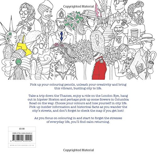 Secret London Colouring For Mindfulness Amazoncouk Alice Chadwick Rosie Goodwin 9780600634492 Books